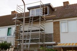 Plaatsen dakkapel en vaste trap